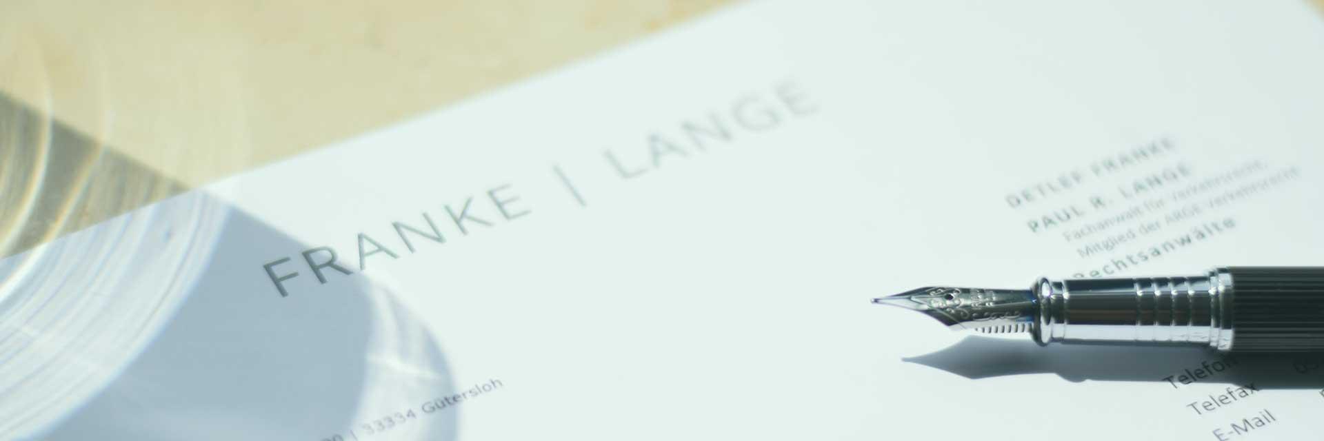 Corporate Design für Anwaltskanzlei in Bieleld