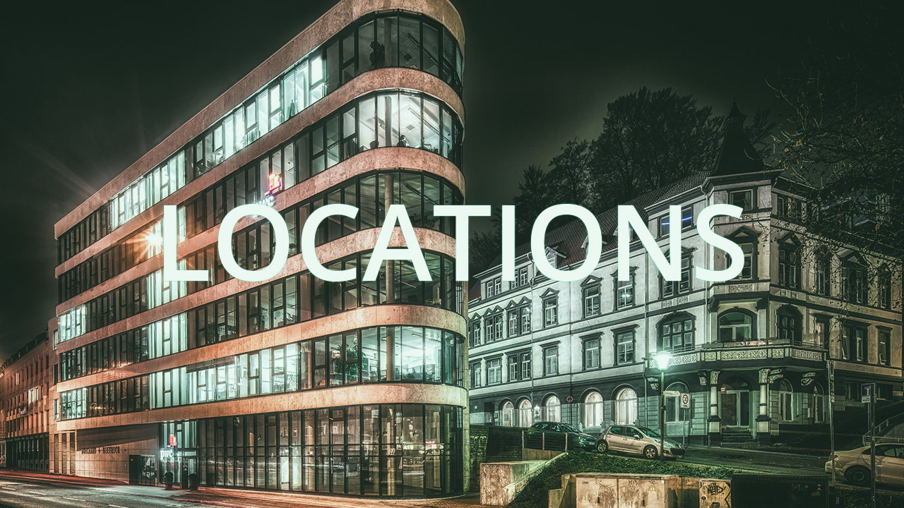 Locations of Advertising Agency