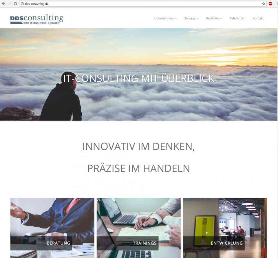 Website-Erstellung IT-Consultants